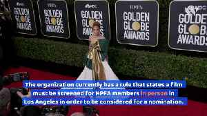 Golden Globes Change Film Eligibility Rules [Video]
