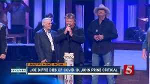 Remembering Joe Diffie; Grammy-winning artist dies from COVID-19