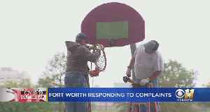 Fort Worth Closing All Basketball, Volleyball Courts Due To Lack Of Social Disttancing [Video]