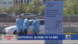 New York Leads National Surge In Coronavirus Patients [Video]