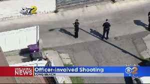 Long Beach Police Respond To Officer-Involved Shooting [Video]