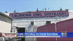 Coronavirus: Santa Ana Distillery Now Selling Hand Sanitizer [Video]