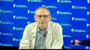 Top doctor at KU Health System says son may have COVID-19 [Video]