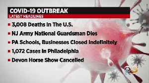 New Jersey Army National Guardsman Dies Of Coronavirus [Video]