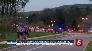 Neighborhood holds memorial parade
