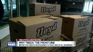 Help local restaurants and hospital workers at the same time [Video]