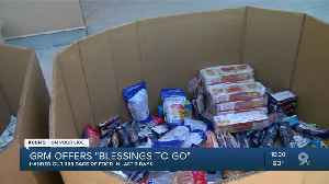 Gospel Rescue Mission donates food to families in need during COVID-19 pandemic [Video]