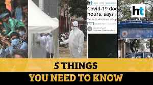 COVID-19 survives on masks; Nizamuddin sealed & more: Top 5 stories from HT [Video]