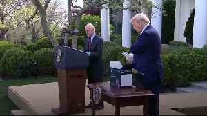 President Trump unveils 15-minute coronavirus test