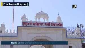 COVID 19 lockdown Needy blessed with food at Nada Sahib Gurudwara [Video]
