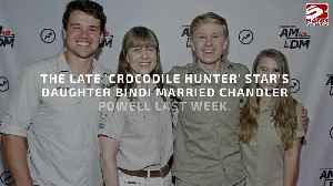 Steve Irwin 'would have worn khaki' to his daughter Bindi Irwin's wedding [Video]