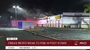 Fire at Fort Myers business [Video]