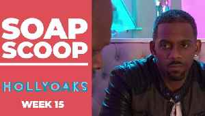 Hollyoaks Soap Scoop! Felix resorts to blackmail [Video]