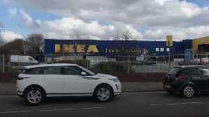 Coronavirus test centre opens at Wembley Ikea [Video]