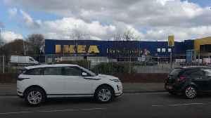 Coronavirus test centre opens at Wembley Ikea
