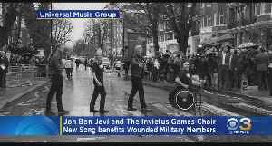 New Jersey Native Jon Bon Jovi, The Invictus Games Choir Create Song To Help Wounded Veterans In UK [Video]