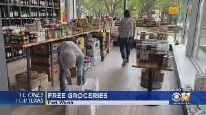 Ones For Texas: North Texans Stay Entertained Outdoors, Free Groceries In Fort Worth [Video]