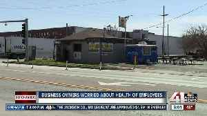 Business owners worried about health of employees [Video]