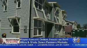 New Orders Freeze Rent Hikes, Shut Down Farmer's Markets [Video]