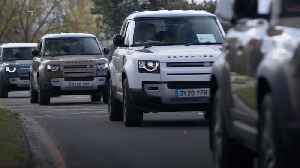 Jaguar Land Rover deploys vehicles to help Red Cross pandemic effort