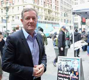 Piers Morgan had a 'socially-distanced' birthday party [Video]