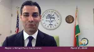 Miami Mayor Francis Suarez Is Happy To Be Out Of Self-Quarantine [Video]