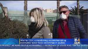 CDC Considers Recommending Everyone Wear Masks In Public [Video]