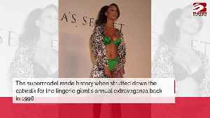 Tyra Banks proud to break down walls for African American models