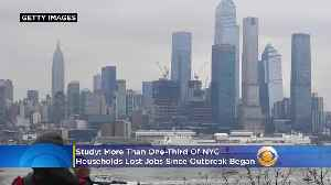 Study: More Than One-Third Of NYC Households Lost Jobs Since Outbreak Began [Video]