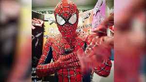 Stockport Spider-Men keep kids entertained during lockdown [Video]