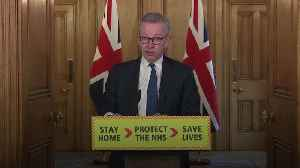 Michael Gove: We must go 'further, faster' with testing [Video]