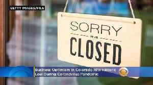 Business Optimism In Colorado Hits Historic Low During Coronavirus Pandemic [Video]