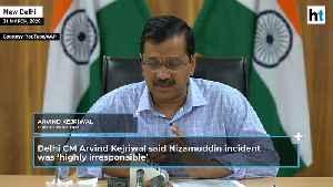 Nizamuddin   'Highly irresponsible': Kejriwal seeks action against organisers [Video]