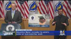 Gov. Charlie Baker Gives Update On Massachusetts Coronavirus Response [Video]