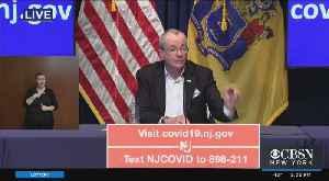 Coronavirus Update: Gov. Phil Murphy Updates On NJ COVID-19 Effects [Video]