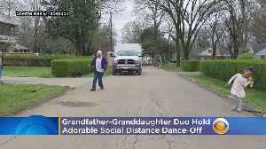 WATCH: Grandfather-Granddaughter Duo Hold Adorable Social Distance Dance-Off [Video]