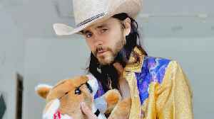 Jared Leto transforms into Joe Exotic for a 'Tiger King' watch party [Video]