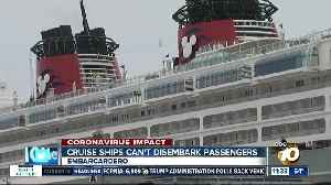 San Diego stops cruise ships from dropping off passengers during COVID-19 pandemic [Video]