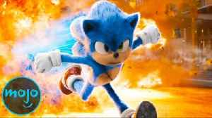 Top 10 Sonic the Hedgehog Movie Moments [Video]