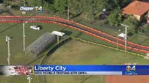 New Coronavirus Testing Site Opens In Liberty City [Video]