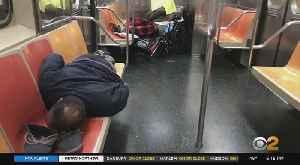 Coronavirus Update: Homeless Individuals Packing Subway Cars Amid Pandemic [Video]