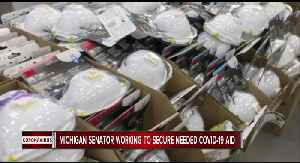 Michigan Senator working to secure needed COVID-19 aid [Video]
