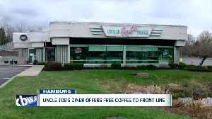 Uncle Joe's Diner offers free coffee, 10% discount to those on front lines [Video]