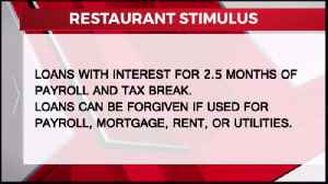 Local Restaurant's React to Stimulus Bill [Video]