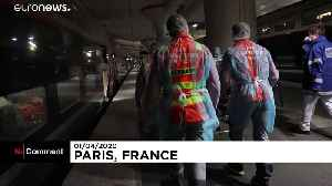 COVID-19 patients transferred away to ease pressure on Paris hospitals [Video]