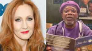 J.K. Rowling Launches 'Harry Potter at Home' Hub, Samuel L. Jackson Reads 'Stay the F--k at Home' & More | THR News [Video]