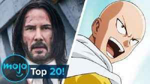 Top 20 Unbeatable Characters of All Time [Video]