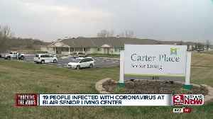 19 people infected with coronavirus at Blair senior living center [Video]