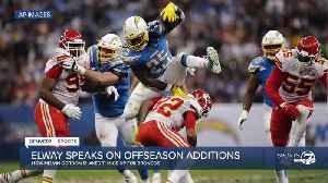 Broncos recap: Elway addresses offseason additions, NFL Draft [Video]