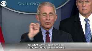 WEB EXTRA: Dr. Fauci Says Mitigation Is Working [Video]